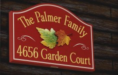 The Palmer Family Property Sign | Danthonia Designs