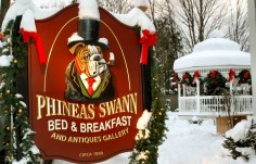 Phineas Swann Bed and Breakfast Sign