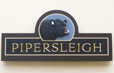 Pipersleigh Farm Sign