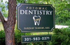 Potomac Dentistry sign