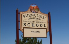 Purnululu School Message Board Sgin