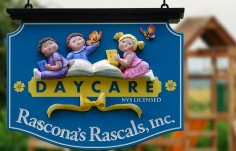 Rascona's Rascals Day Care Sign