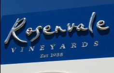Rosenvale Winery Sign Detail