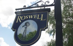 Roswell Property Sign