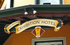 Royal Exhibition Pub Sign