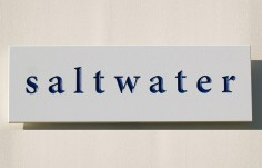 Saltwater House Sign
