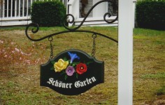 Schoner Garten House Sign | Danthonia Designs