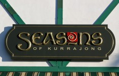 Seasons of Kurrajong Cafe Sign Detail