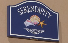 Serendipity Beach House Sign