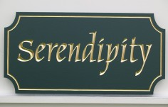 Serendipity House Name Sign