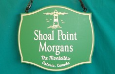 Shoal Point Morgans Show Sign