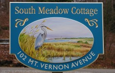 South Meadow Cottage Sign