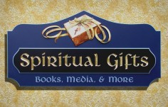 Spiritual Gifts Retail Sign | Danthonia Designs