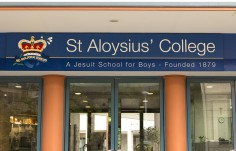 St. Aloysius School Facia Sign