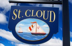 St. Cloud Lake House Sign