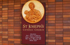 St. Joseph's Catholic Church Sign