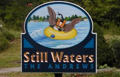 Still Waters Lake House Sign
