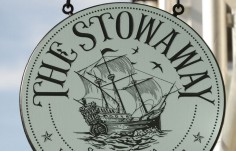 The Stowaway Restaurant Sign