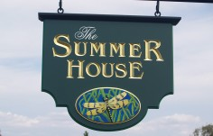 The Summer House B & B Cottage Sign