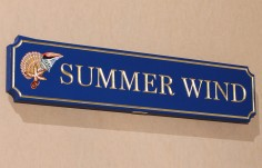 Summer Wind Beach House Sign
