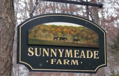 Sunnymeade Farm Sign