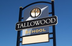 Tallowood School Sign