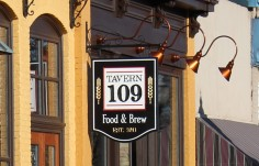 Tavern 109 Pub Sign
