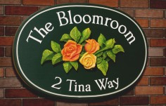 The Bloomroom House Sign | Danthonia Designs