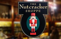 The Nutcracker Shoppe Sign | Danthonia Designs