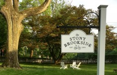 The Stony Brookside Bed & Bike Inn sign