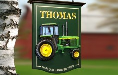 Thomas Farming Sign