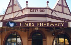 Timbs Pharmacy Sign