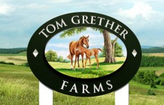Tom Grether Farms Sign
