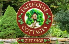Treehouse Cottages Sign Thumb