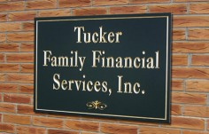 Tucker Family Financial  Business Sign