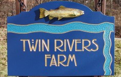 Twin Rivers Farm Sign