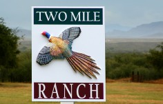 Two Mile Ranch Farm Sign