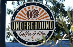Underground Cafe Sign
