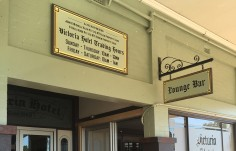 Victoria Hotel Licensee Sign