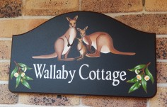 Wallaby Cottage Sign