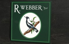 Webber House Sign