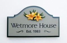 Wetmore House Sign