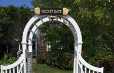 Wicket Gate Quarterboard on Site