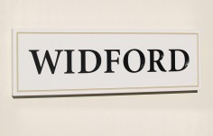 Widford House Name Sign