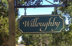 Willoughby Property Sign