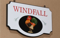 Windfall Farm Sign