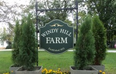 Windy Hill Farm Sign