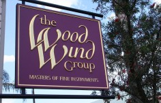 The Woodwind Group Sign