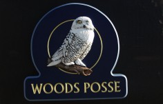 Woods Posse Bird Sign