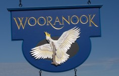 Wooranook B & B Sign